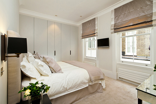 slaapkamer bruin roze – artsmedia, Deco ideeën